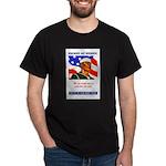 Enlist in the US Navy (Front) Dark T-Shirt
