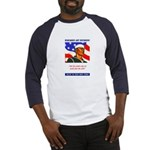 Enlist in the US Navy (Front) Baseball Jersey