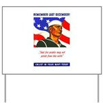 Enlist in the US Navy Yard Sign