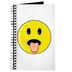 Smiley Face - Tongue Out Journal