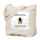 Quality Manager Superhero Tote Bag