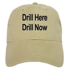 2 COLORS! Drill Baseball Cap!