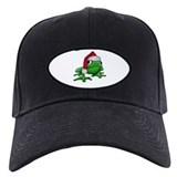 Christmas Frog Baseball Hat