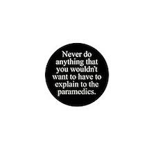 Paramedics Mini Button (10 pack)