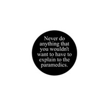 Paramedics Mini Button (100 pack)