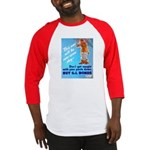 Comic Pants Down Humor Baseball Jersey