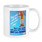 Comic Pants Down Humor Mug