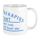 This will hurt - PTA Small Mug