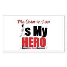 Lung Cancer Hero (Sister-in-Law) Decal