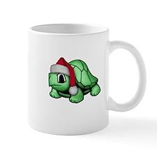 Christmas Turtle Small Mugs