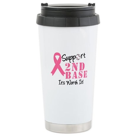 Support 2nd Base Ceramic Travel Mug