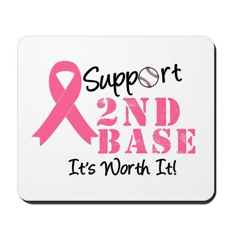 Support 2nd Base Mousepad