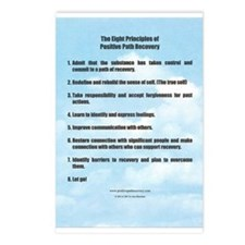 Positive Path Recovery Postcards (Package of 8)