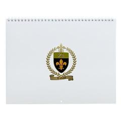 THIBAULT Family Crest Wall Calendar