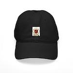 TRAHAN Family Crest Black Cap