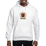 TRAHAN Family Crest Hooded Sweatshirt