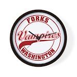 Vampires Forks, WA Wall Clock