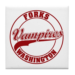 Vampires Forks, WA Tile Coaster