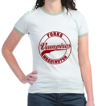 Vampires Forks, WA Jr. Ringer T-Shirt