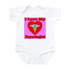 I Love My Psychologist Infant Bodysuit