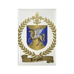 TURGEON Family Crest Rectangle Magnet