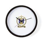 TURGEON Family Crest Wall Clock