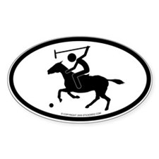 """Polo"" - Oval Decal"
