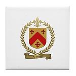 VINCENT Family Crest Tile Coaster