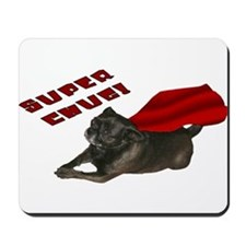 Chug, red: Mousepad