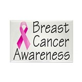 Breast Cancer Awareness 2 Rectangle Magnet (10 pac