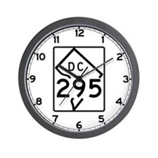 Route 295, District of Columbia Wall Clock