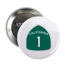 "State Route 1, California 2.25"" Button (10 pack)"