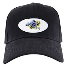 Painted Pansy Baseball Hat