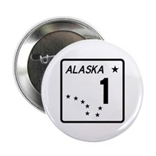"Route 1, Alaska 2.25"" Button (10 pack)"