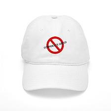 Anti Corporate Greed Baseball Cap