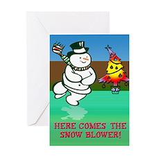 Humorous Christmas Greeting Card