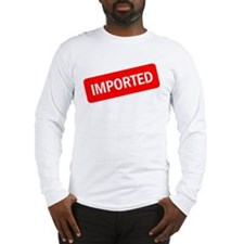 Imported Long Sleeve T-Shirt