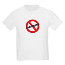 Anti-Canadians Kids T-Shirt