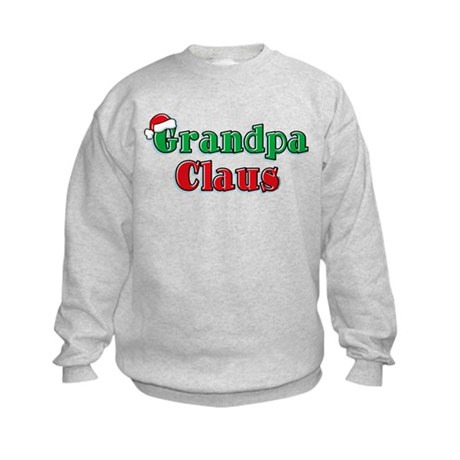 Grandpa Claus Kids Sweatshirt