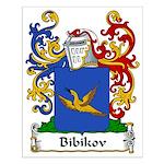 Bibikov Family Crest Small Poster