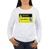 Warning: I am Zeus T-Shirt