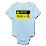 Warning: I am Zeus Onesie