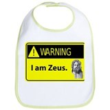 Warning: I am Zeus Bib