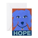 Dachshund for Obama Greeting Card