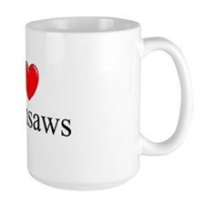 """I Love (Heart) Chainsaws"" Mug"