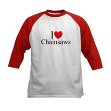"""I Love (Heart) Chainsaws"" Tee"