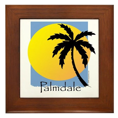 Palmdale Framed Tile