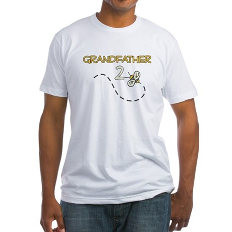 Grandfather to Be (Bee) Fitted T-Shirt