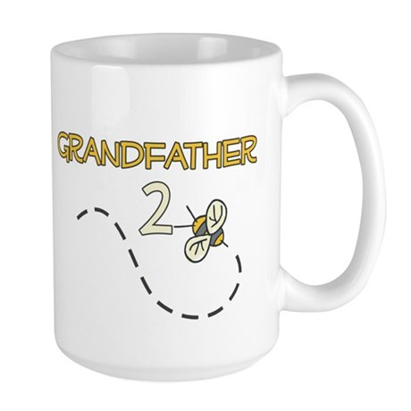 Grandfather to Be (Bee) Large Mug