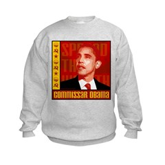 Commissar Obama Kids Sweatshirt